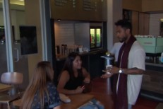 Watch Miguel Play <em>Kimmel</em>, Serenade Random Coffee Shop Customer