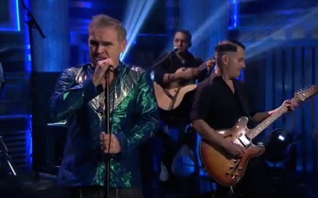 Morrissey on The Tonight Show