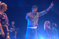 "Watch Pharrell Play ""Freedom"" For The First Time, But Not Catch A Cup Of Beer, At PinkPop"