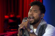 "Watch Miguel Cover Slaves' ""Hey"" On BBC Radio 1 Live Lounge"