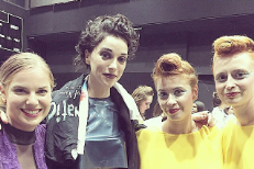 Watch St. Vincent Perform New Song