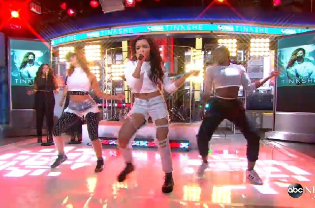 Tinashe on GMA