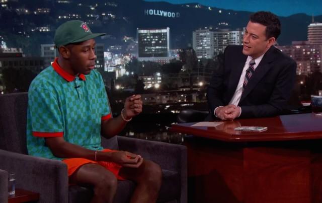 Tyler The Creator on Kimmel