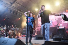 Jon Hamm & Zach Galifiankis @ 2015 Bonnaroo Music & Arts Festival