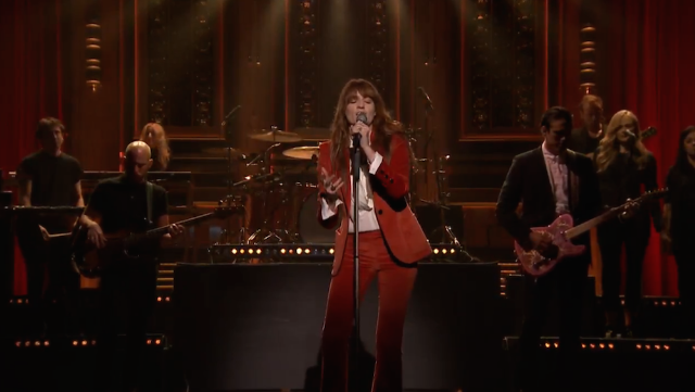 "Watch Florence + The Machine Perform ""Ship To Wreck"" On Jimmy Fallon"