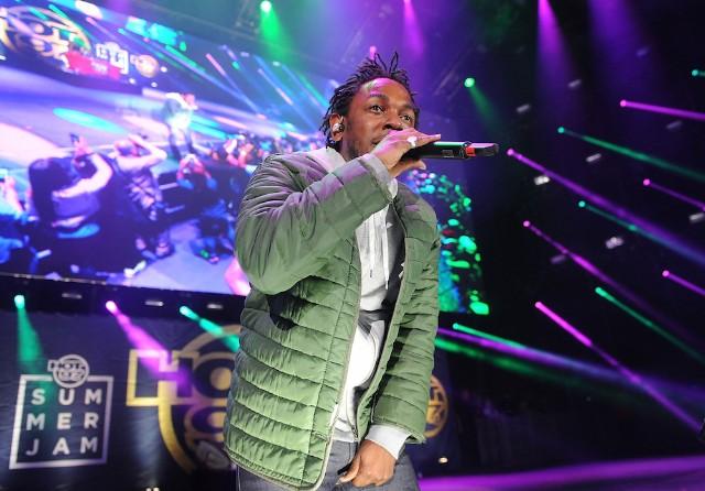 "Watch Kendrick Lamar Finally Play ""King Kunta,"" ""The Blacker The Berry,"" ""Hood Politics"" In Concert"