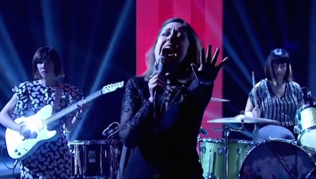 Watch Sleater-Kinney's Full Jools Holland Performance