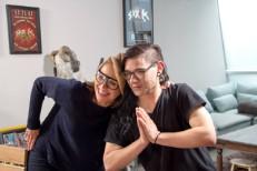 Watch Skrillex & Katie Couric Make EDM