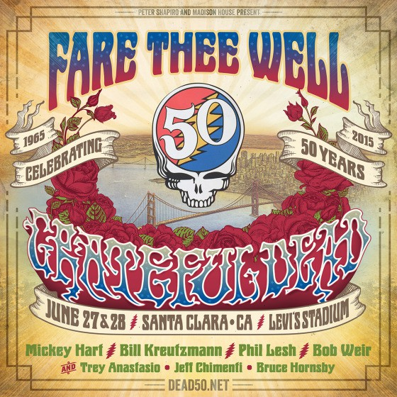The Grateful Dead Fare The Well Shows On Sirius XM Pay Per View