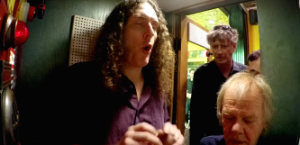 Watch Weird Al Record A Song In Third Man Records' Voice-O-Graph Booth