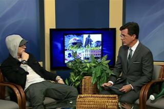 Watch Stephen Colbert Interview Eminem On A Michigan Public Access Show