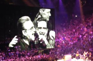 Watch U2 Hand Over The Stage To A U2 Tribute Act In Toronto