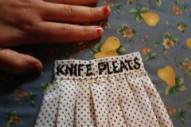 "Knife Pleats – ""One Step Too Far"" & ""Terrible"""