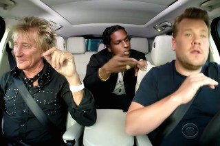 Watch Best Coast Perform, A$AP Rocky Do Carpool Karaoke With Rod Stewart On <em>James Corden</em>