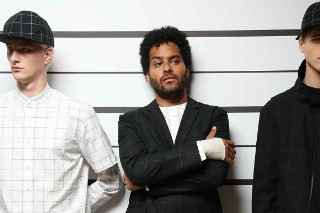 Twin Shadow Makes His Modeling Debut At Men's Fashion Week