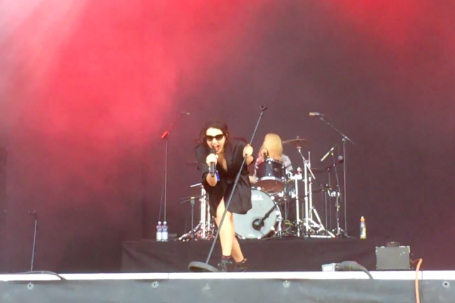 "Watch Charli XCX Sing The Previously Unreleased ""Mow That Lawn"" In Finland"