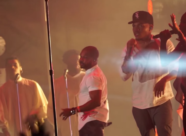 """Watch Chance The Rapper Perform """"Sunday Candy"""" With Kirk Franklin And A Gospel Choir At Pitchfork Fest"""