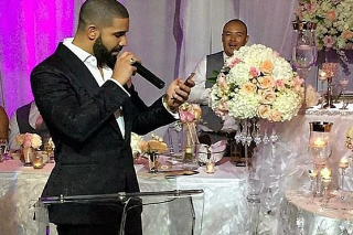 Preview A New Song Drake Performed At His Barber's Wedding
