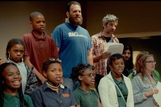 Future Islands, Lower Dens Members Help Baltimore Middle Schoolers Record Song About Riots