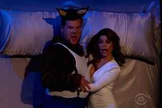 "Watch James Corden & Paula Abdul Recreate The ""Opposites Attract"" Video"