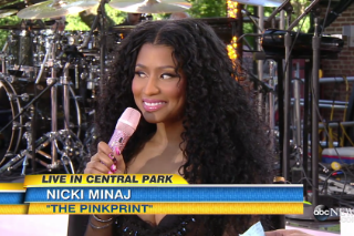 Watch Nicki Minaj Perform, Discuss Taylor Swift On <em>GMA</em>