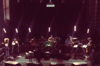 Watch Brandon Flowers Cover Spoon In MoPop Rehearsal