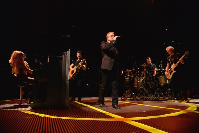 U2 @ Madison Square Garden, NYC 7/26/2015