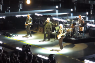 "Watch U2 Play ""Two Hearts Beat As One"" For The First Time In 26 Years"
