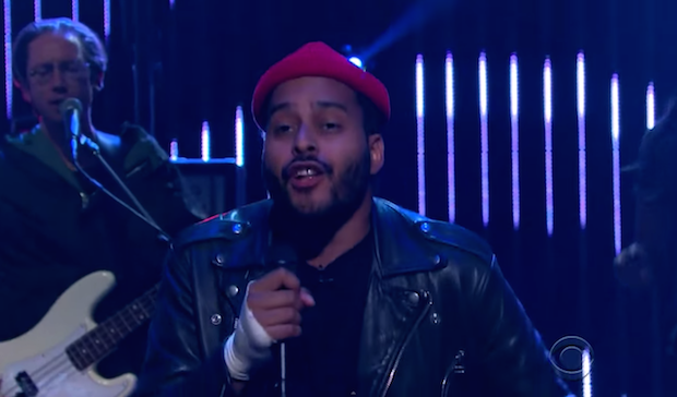 "Watch Twin Shadow's Passionate ""To The Top"" Performance On <em>James Corden</em>"