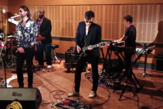Watch Mark Ronson Cover Queens Of The Stone Age With Tame Impala's Kevin Parker