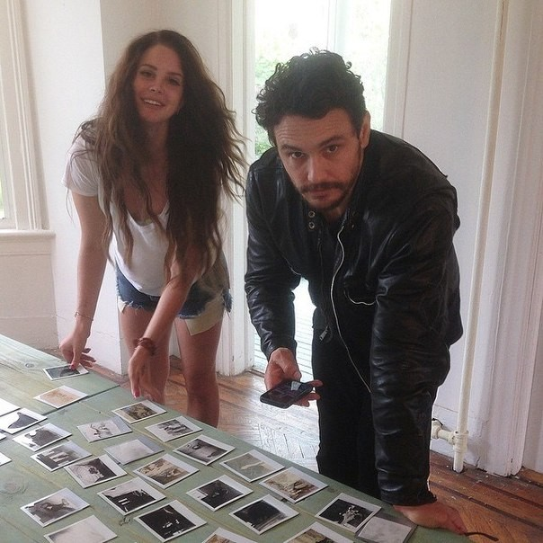 James Franco Wrote A Book About Lana Del Rey