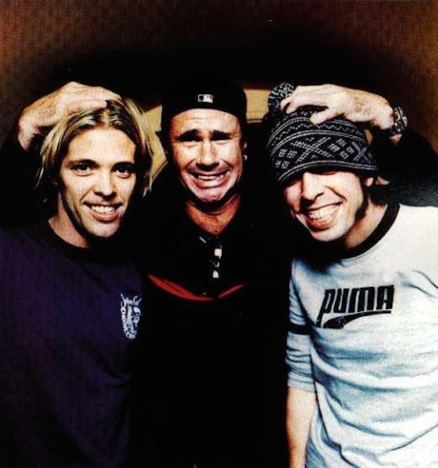 Chad Smith and Foo Fighters