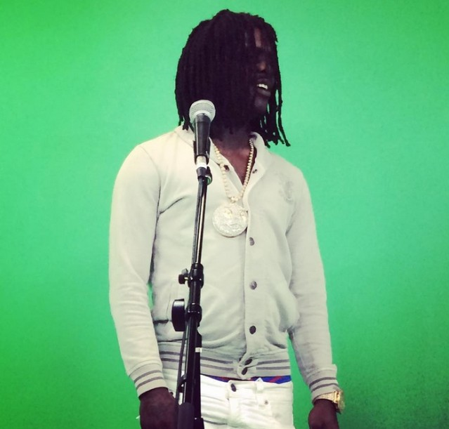 Chief Keef green screen