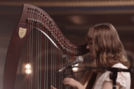 "Watch Emilie & Ogden Cover Taylor Swift's ""Style"" On Harp"
