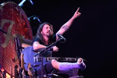Watch Dave Grohl Play Foo Fighters' 20th Anniversary Blowout From A Giant Motorized Throne