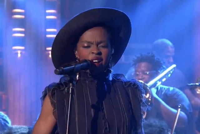 Lauryn Hill on The Tonight Show
