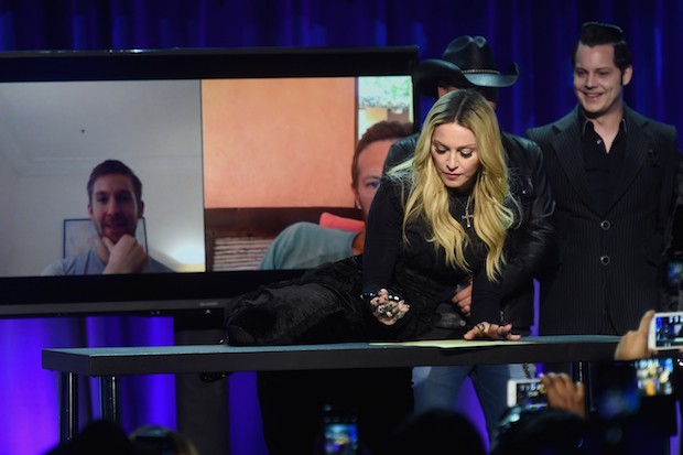 Madonna at Tidal launch