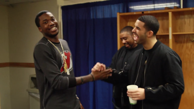Meek Mill and Drake