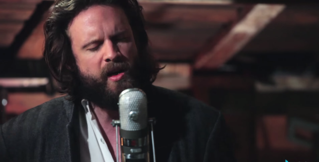 Watch The Rest Of Father John Misty's Acoustic Set At A Vancouver Leather Shop