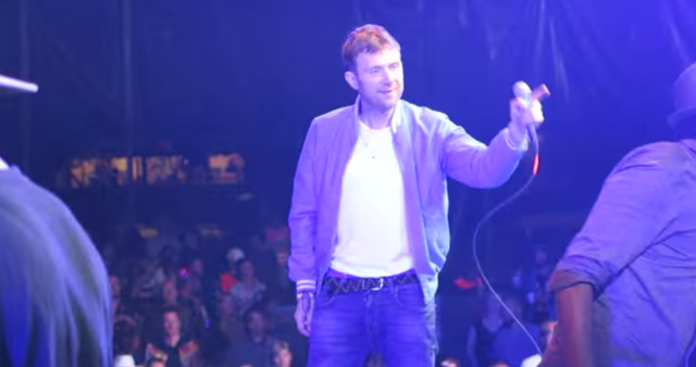 Watch Damon Albarn Cover The Clash And Get Carried Offstage By Security At Roskilde