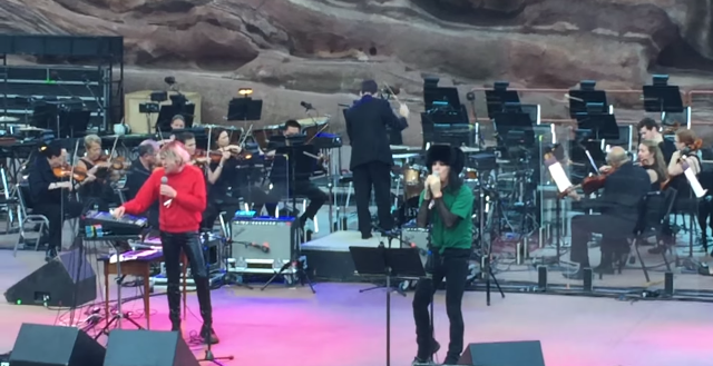 Ariel Pink Colorado Symphony Red Rocks