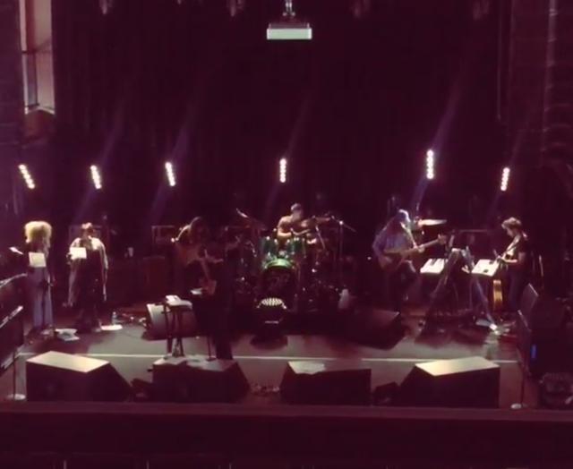 Watch Brandon Flowers Cover Spoon In MoPop Rehearsal