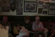 Watch Liam Gallagher Play A New Song In An Irish Pub
