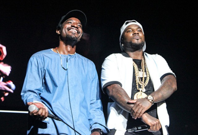 Young Jeezy and Andre 3000