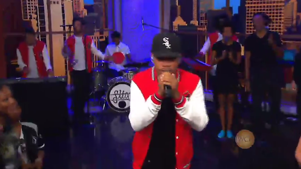 "Chance The Rapper Teases Kanye Collab, Performs ""Sunday Candy"" And ""Paranoia"" On Windy City Live"
