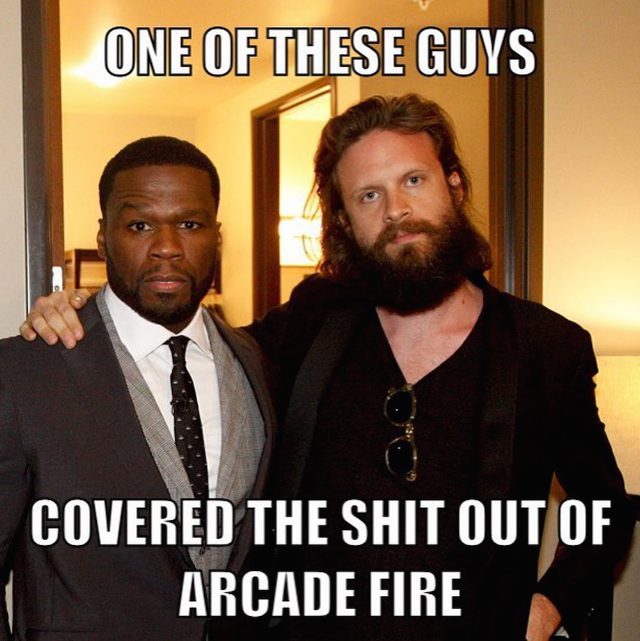 Watch Father John Misty And 50 Cent On Conan