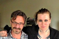 Marc Maron & Laura Jane Grace