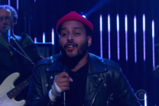 "Watch Twin Shadow's Passionate ""To The Top"" Performance On James Corden"