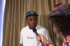 Watch Nardwuar Reunite With Tyler, The Creator