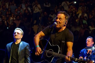 Watch U2 Perform With Bruce Springsteen In NYC